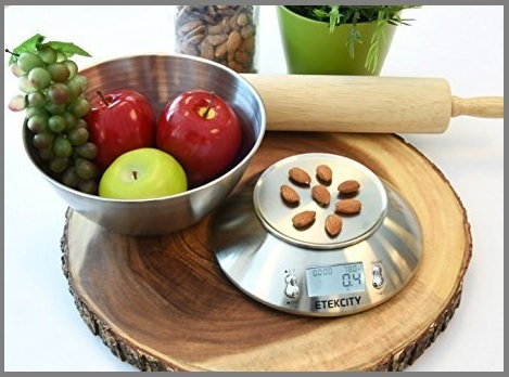 Bilancia elettronica cucina professionale retroilluminato