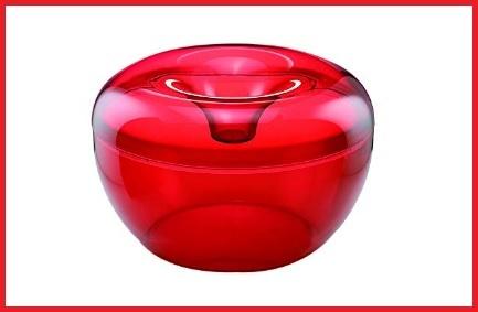 Biscottiera guzzini rosso