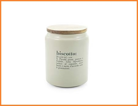 Biscottiera porcellana bamboo