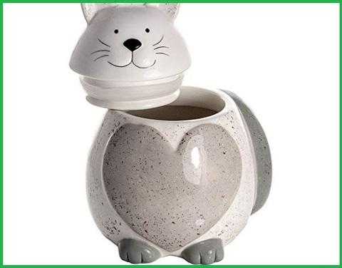 Biscottiera in ceramica grande
