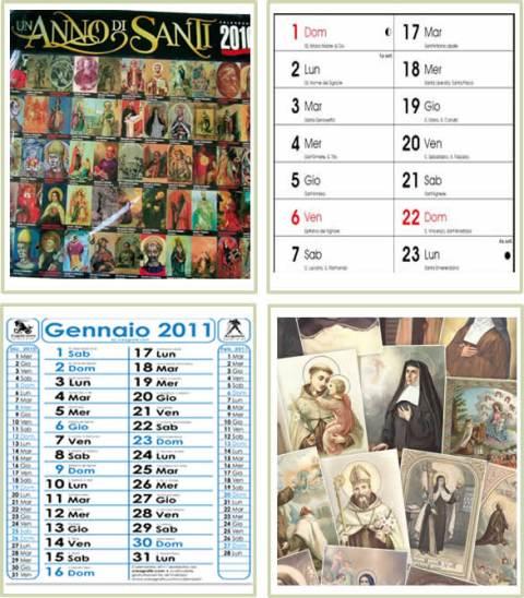 Santi Del Calendario.Calendario Con Santi