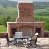 barbecue in muratura