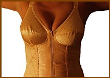 Body Contenitivo Ortopedico Con Cerniera