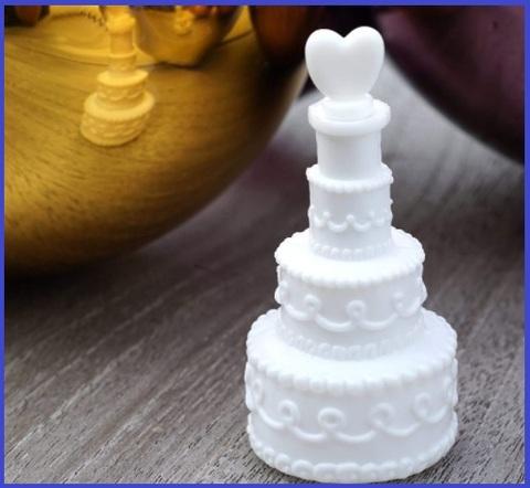 Bolle di sapone matrimonio torta