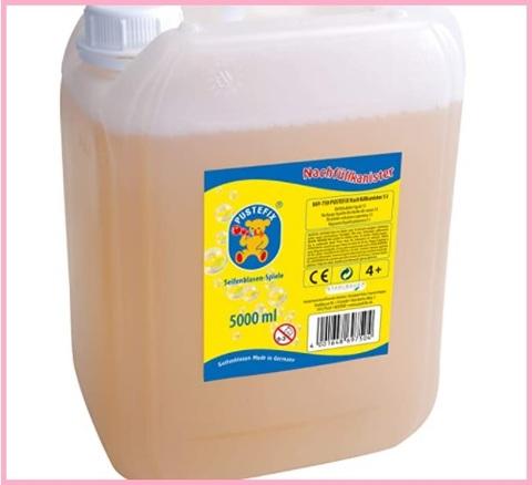 Liquido per bolle di sapone