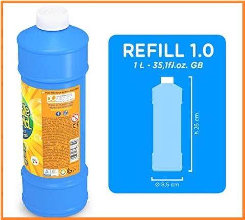 Ricarica bolle di sapone 1 litro