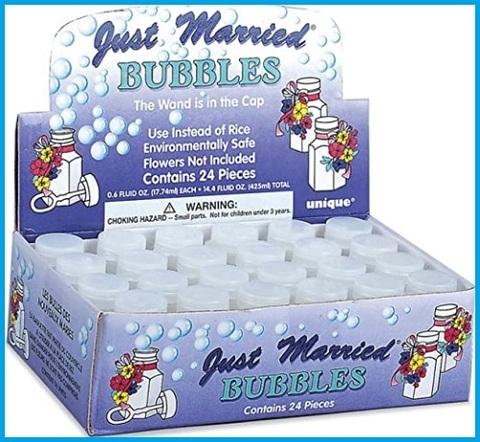 Bolle di sapone grandi matrimonio
