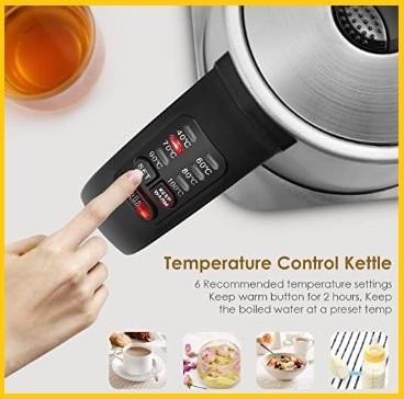 Bollitore Elettrico Temperatura Regolabile