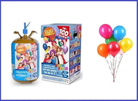 Bombola elio 100 palloncini