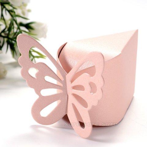 Bomboniere originali matrimonio farfalla perlata