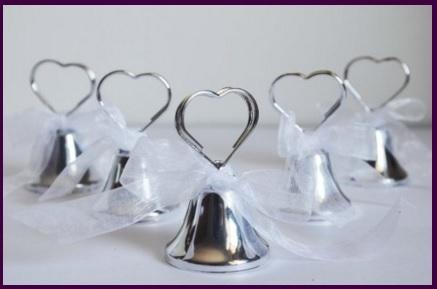 Campanelle bomboniere per matrimoni