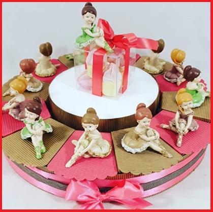 Bomboniere prima comunione ballerina torta
