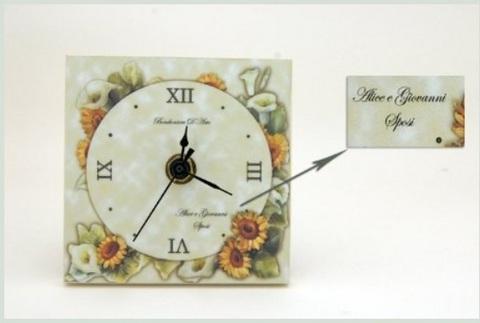 Idee per bomboniere matrimonio utili orologio