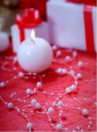 Decorazione di perline per bomboniere