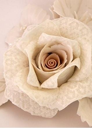 Bomboniera capodimonte visconti porcellana rosa