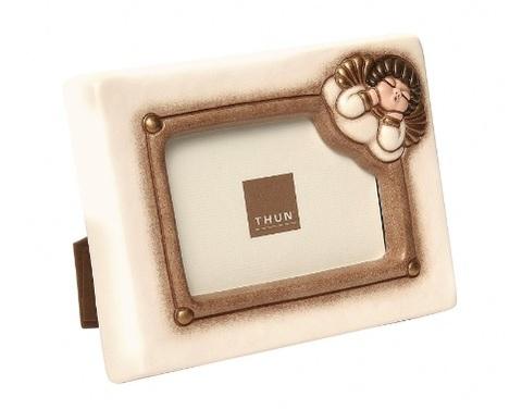Porta foto in ceramica della thun
