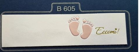 Bigliettini con scritta per battesimo o nascita