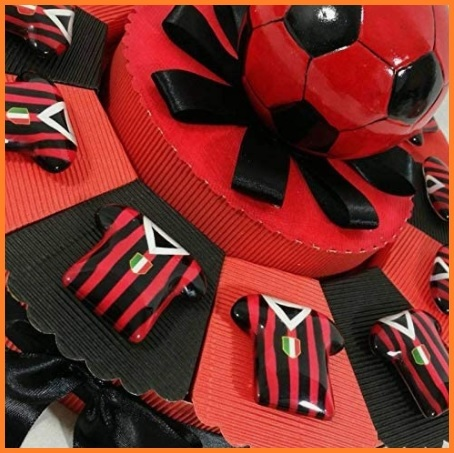 Torta bomboniere calcio milan