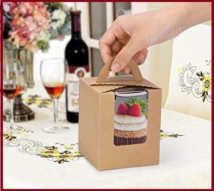 Bomboniere barattoli cupcake originali