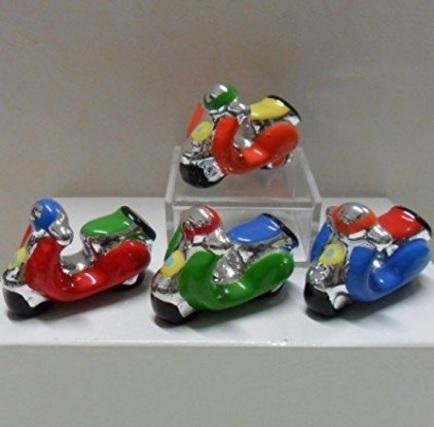 Bomboniere a forma di moto in ceramica varie ricorrenze