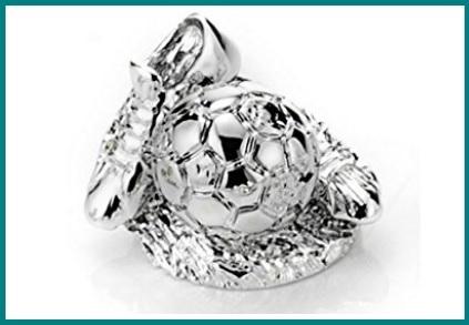 Bomboniere calcio argento