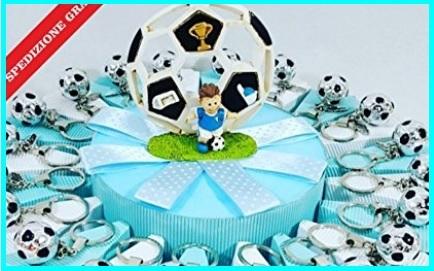 Torta bomboniera calcio per bambini