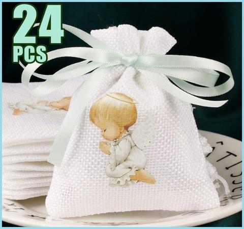 Bomboniera completa con sacchetto bombato per ragazze