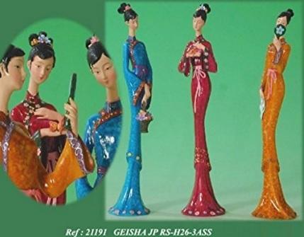 Bomboniere originali con geisha giapponese
