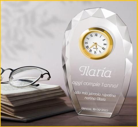 Bomboniera scatolai in cristallo con farfalla