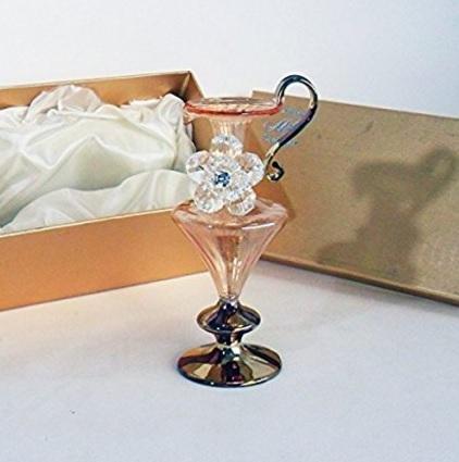 Anfora in vetro soffiato e cristallo bomboniera