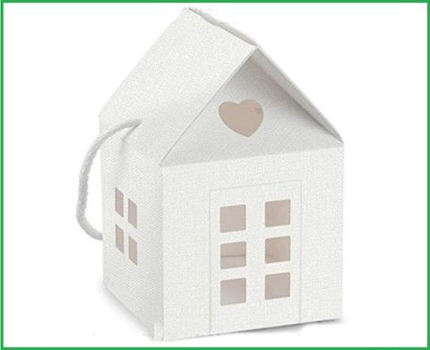 Portaconfetti fai da te scatoline con cuoricini