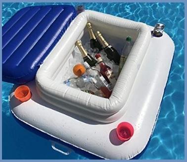 Borse frigo galleggianti portabibite