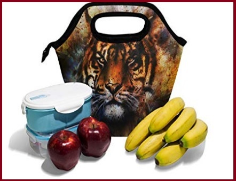 Borsa porta pranzo tiger