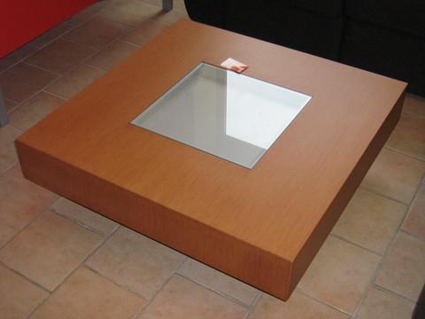 Tavolino quadrato ciliegio