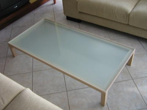 Tavolino rovere naturale