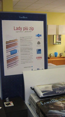 Materasso lady piu' zip ergonomico - sfoderabile