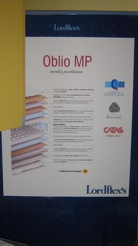 Materasso oblio mp  lordflex's