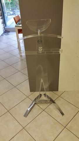 Plexiglass servo muto trasparente sheratonn