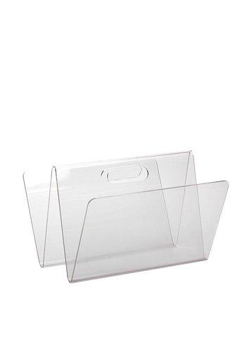 Porta riviste in plexiglass sheratonn