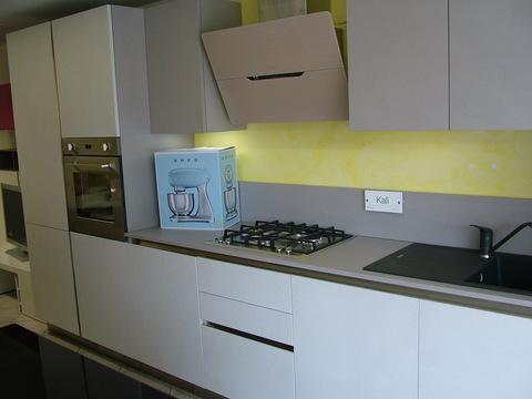 Cucina lineare modello kali plana cm. 365