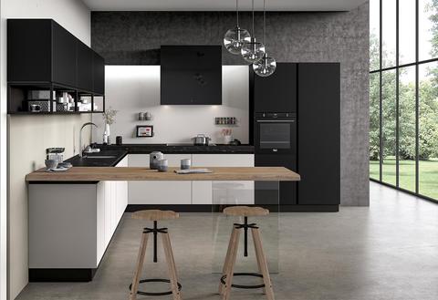 Cucina componibile mod. glass