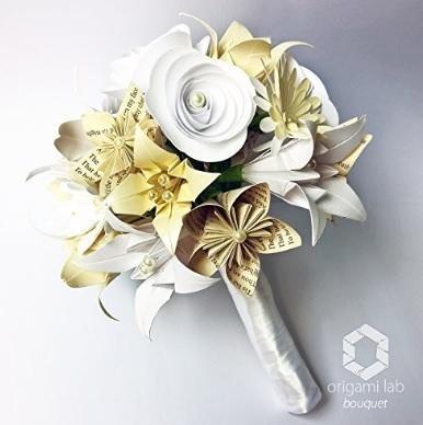 Bouquet spettacolare realizzato a mano carta pregiata