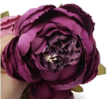 Bouquet elegante e classico fiori viola
