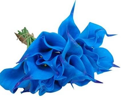 Bouquet Azzurro Per Il Matrimonio