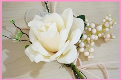 Bouquet Bomboniera Rosa Bianca