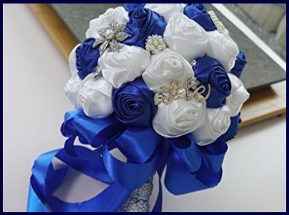 Bouquet Raso Blu