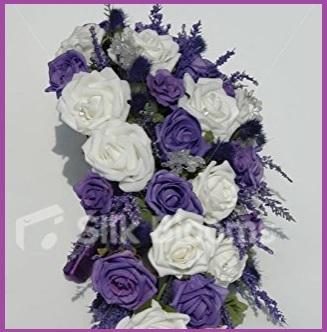 Bouquet A Cascata Matrimonio