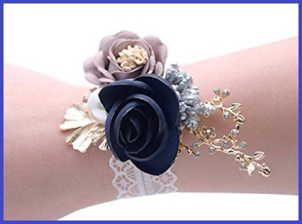 Bouquet Da Polso Blu