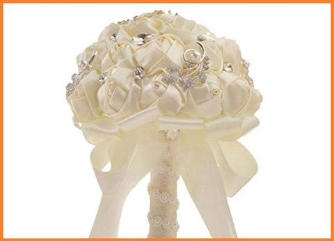 Bouquet In Raso Sposa
