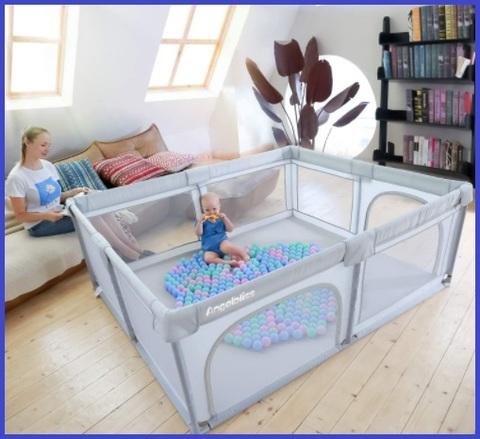 Box bambini con materassino